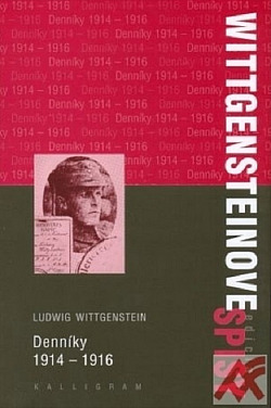 Denníky 1914-1916 obálka knihy