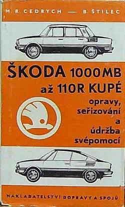 Škoda 1000 MB až 110 R kupé obálka knihy