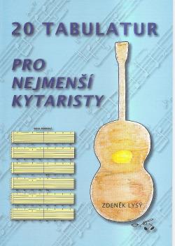 20 tabulatur pro nejmenší kytaristy obálka knihy