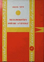 Metamorfózy smíchu a vzteku obálka knihy
