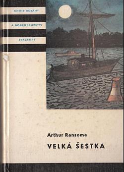 Velká šestka obálka knihy