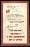 Skizzář k Masarykovu životopisu