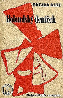 Holandský deníček obálka knihy