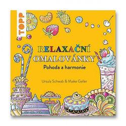 Relaxační omalovánky - pohoda a harmonie obálka knihy
