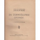 Za černožlutou oponou obálka knihy