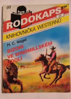 Bizoni ve Windmillském údolí obálka knihy