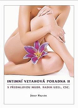 Intimní vztahová poradna II. obálka knihy