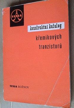 Konstrukční katalog křemíkových tranzistorů obálka knihy