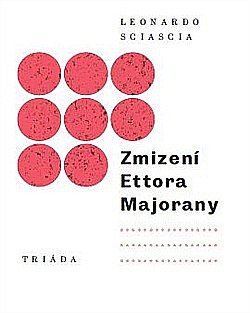 Zmizení Ettora Majorany obálka knihy