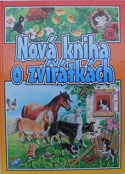 Nová kniha o zvířátkách obálka knihy