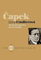 Čapek - Dramaturgie her Karla Čapka obálka knihy