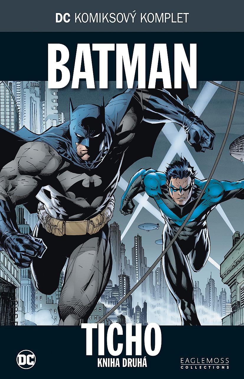 7632f224244 DC komiksový komplet  Batman  Ticho  Kniha druhá - Jim Lee ...