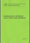Diferenciální a integrální počet funkcí jedné proměnné