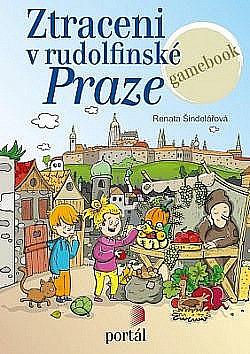 Ztraceni v rudolfinské Praze obálka knihy