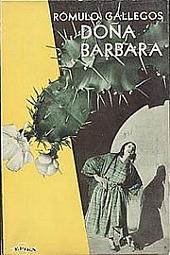 Doňa Barbara obálka knihy