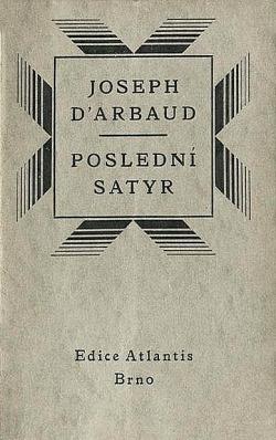 Poslední satyr obálka knihy