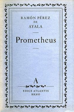 Prometheus obálka knihy