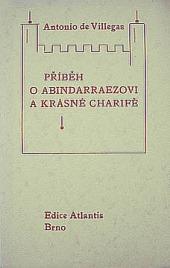 Příběh o Abindarraezovi a krásné Charifě obálka knihy