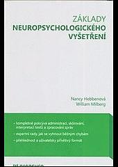 Základy neuropsychologického vyšetření obálka knihy