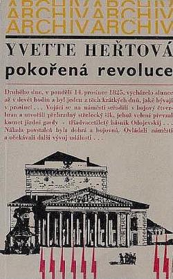 Pokořená revoluce obálka knihy