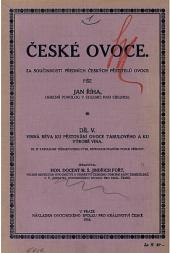 České ovoce. Díl pátý. Vinná réva
