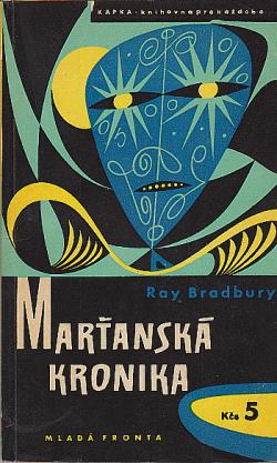 Marťanská kronika obálka knihy