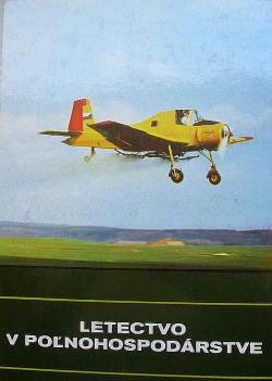 Letectvo v poľnohospodárstve obálka knihy