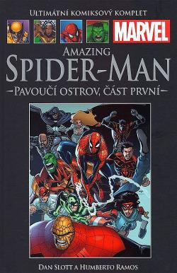 Amazing Spider-Man: Pavoučí ostrov, část první obálka knihy