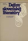 Dejiny slovenskej literatúry od stredoveku po súčasnosť