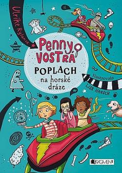 Penny Vostrá - Poplach na horské dráze obálka knihy