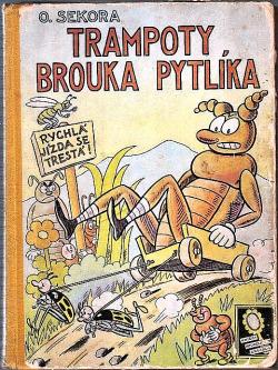 Trampoty brouka Pytlíka obálka knihy