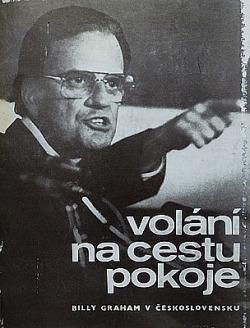 Volání na cestu pokoje - B.Graham v Československu obálka knihy