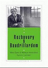 Rozhovory s Baudrillardem obálka knihy