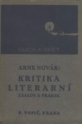 Kritika literární. Metody a směry