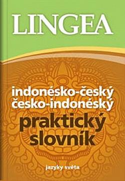 Indonésko-český česko-indonéský praktický slovník obálka knihy