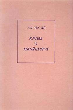 Kniha o manželství obálka knihy