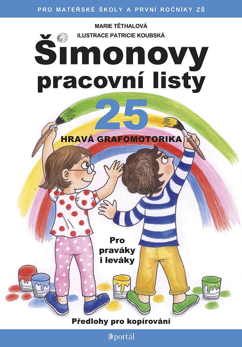 Simonovy Pracovni Listy 25 Hrava Grafomotorika Marie Tethalova