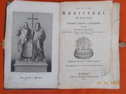 Katolický Kancionál obálka knihy