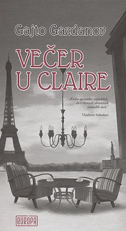 Večer u Claire obálka knihy