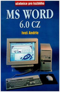 MS Word 6.0 CZ obálka knihy