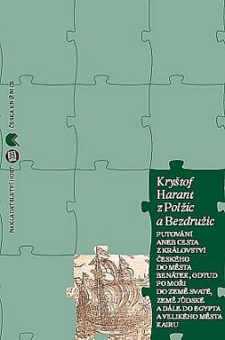 Putování aneb Cesta z Království českého do města Benátek obálka knihy
