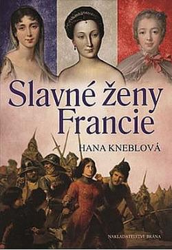 Slavné ženy Francie obálka knihy