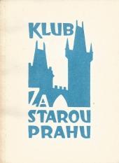 Klub Za starou Prahu - Zprávy 1985