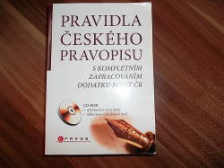 Pravidla českého pravopisu s kompletním zapracováním dodatku MŠMT ČR obálka knihy