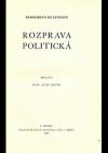 Benedikta de Spinozy Rozprava politická