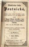 Modlitebná kniha poutnická k Panně Marii Celenské, k Nejsvětější Trojici a k Panně Marii Táfelské