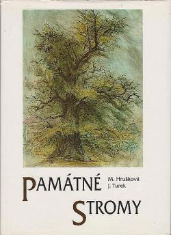 Památné stromy obálka knihy