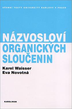 Názvosloví organických sloučenin obálka knihy
