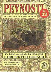 Čs. lehké opevnění v Orlických horách obálka knihy