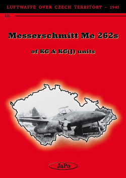 Messerschmitt Me 262 s of KG & KG(J) units obálka knihy